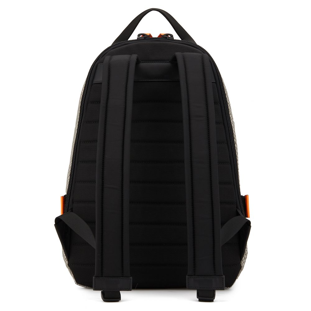 MACK BLACK - Grey - Backpacks