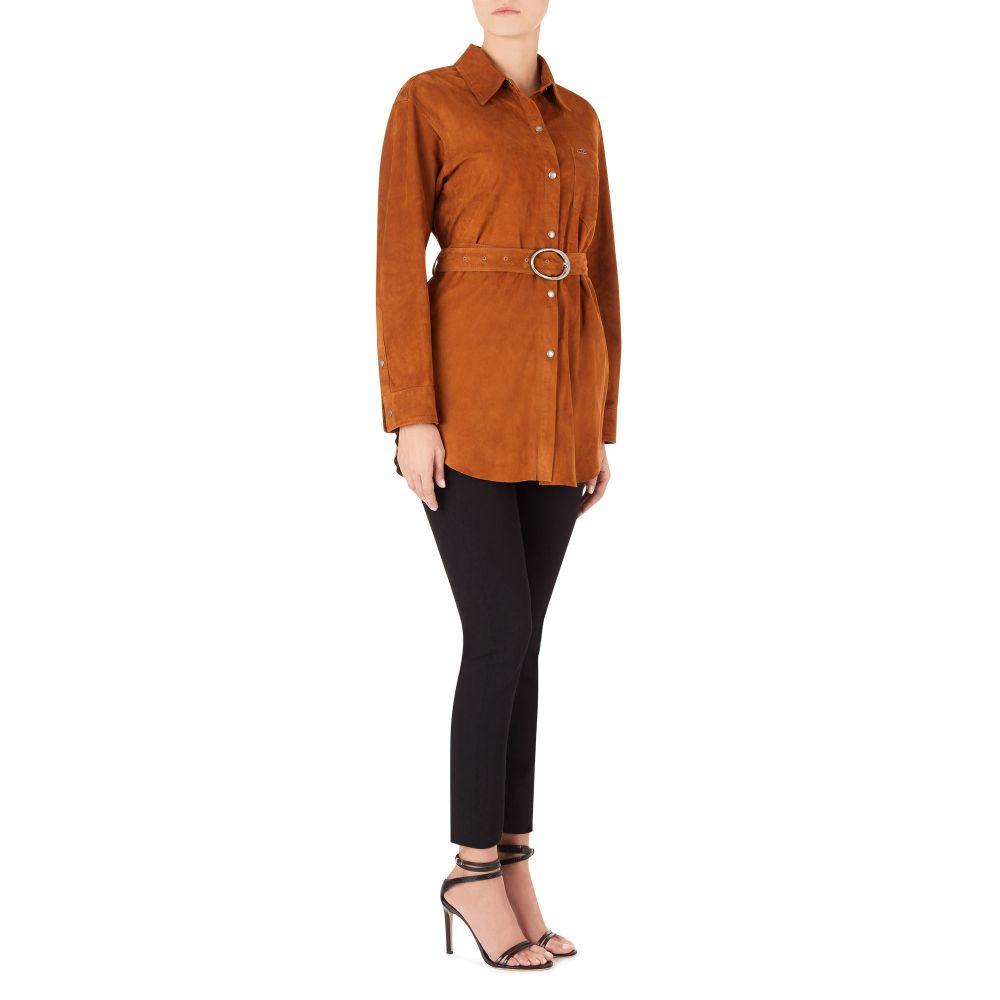 KAMILAH - Brown - Jackets