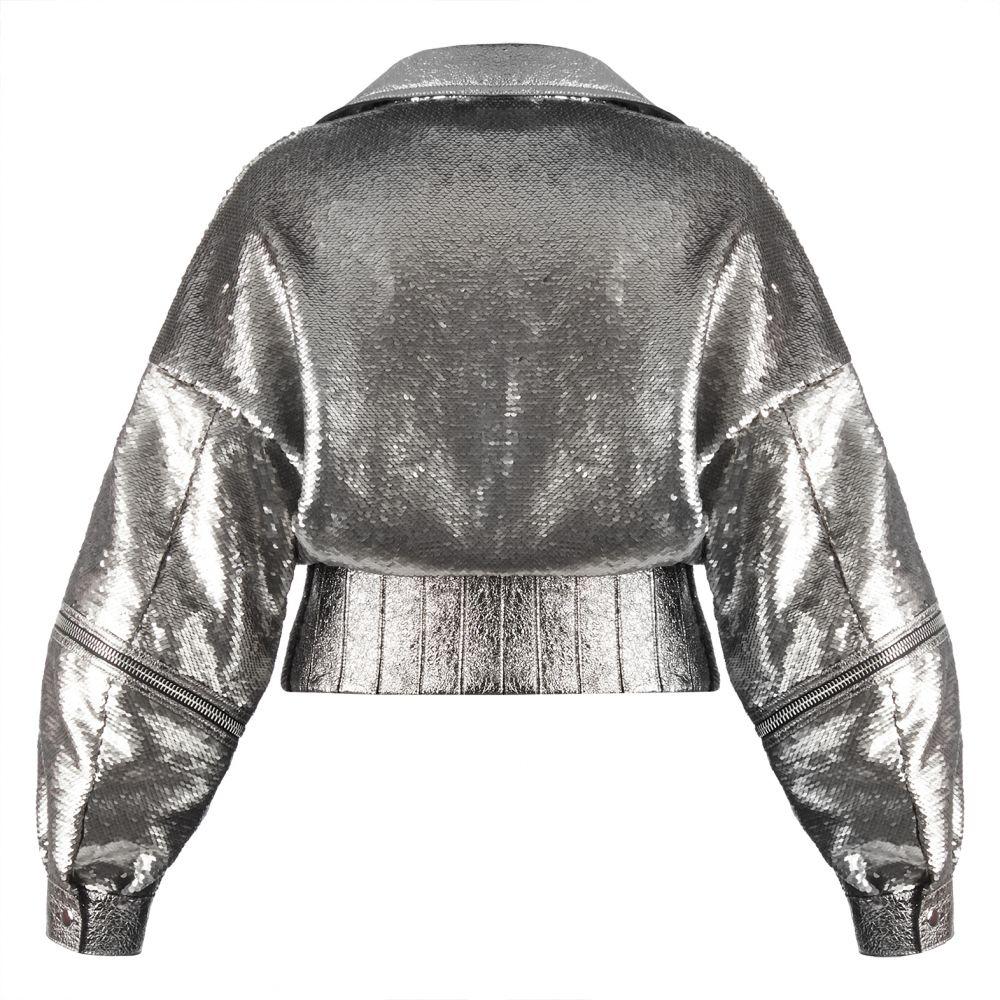 CHELSEY METALLIC - Silver - Jackets
