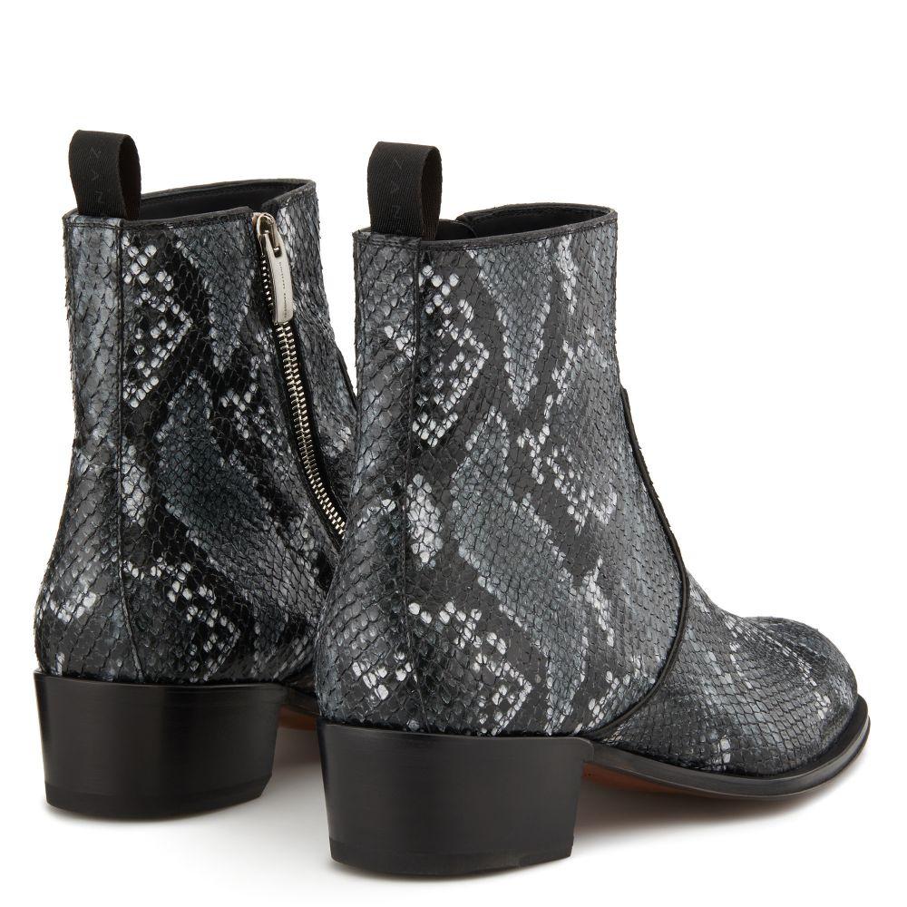 SEBA PYTHON - Grey - Boots
