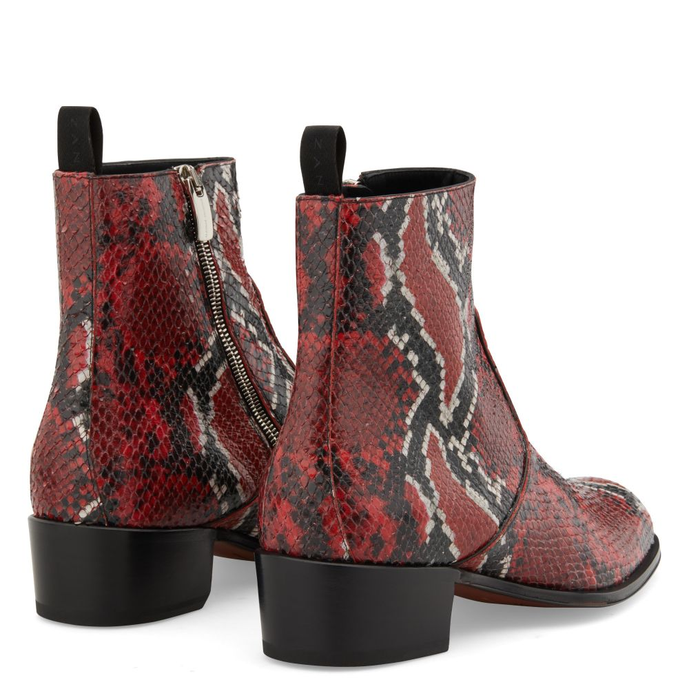 SEBA PYTHON - Red - Boots