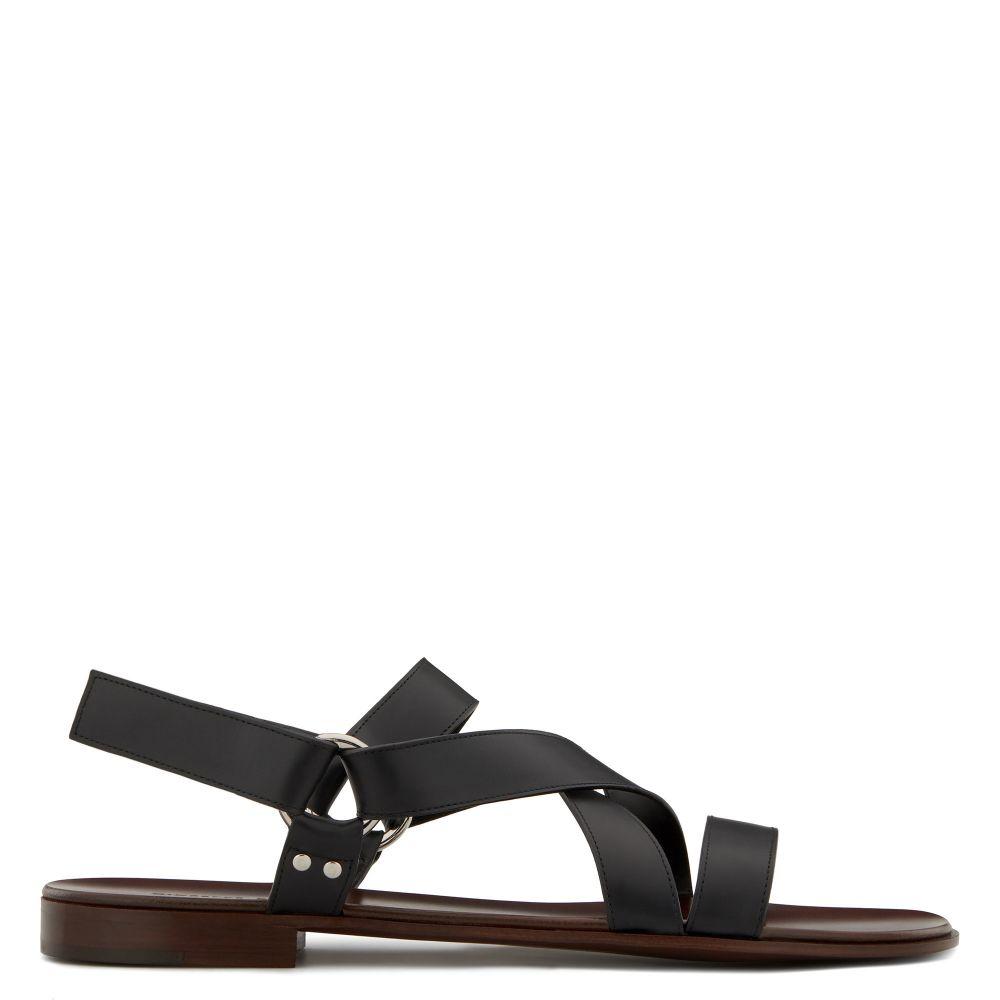 LIAM - Black - Sandals