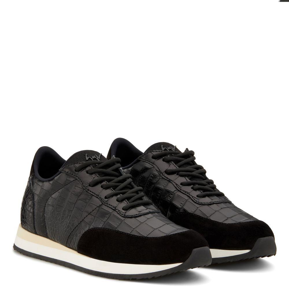 JIMI RUNNING - Black - Low top sneakers