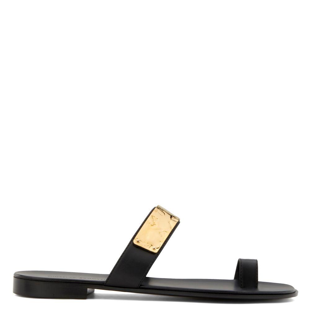 NED - Noir - Sandales