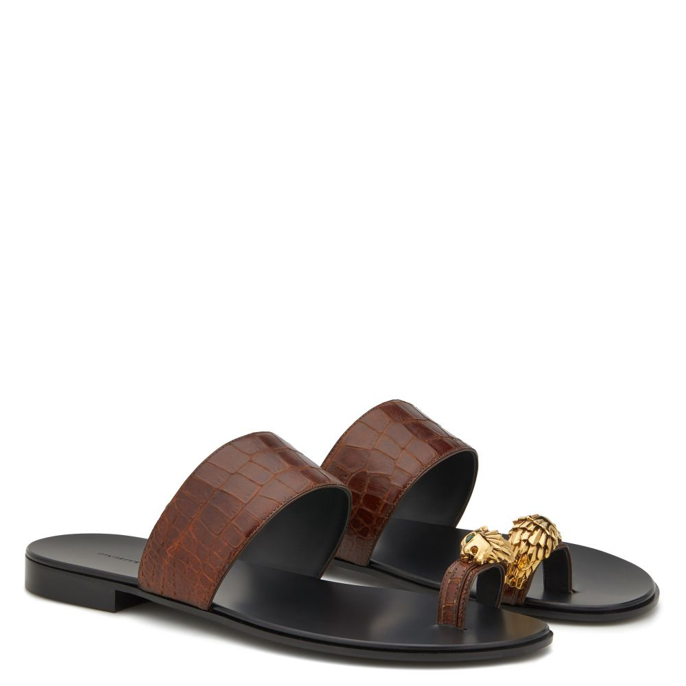 NORBERT LION - Brown - Sandals