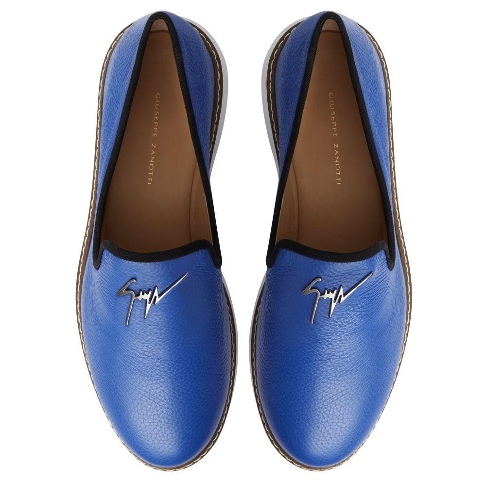 CEDRIC MANHATTAN - Blue - Loafers