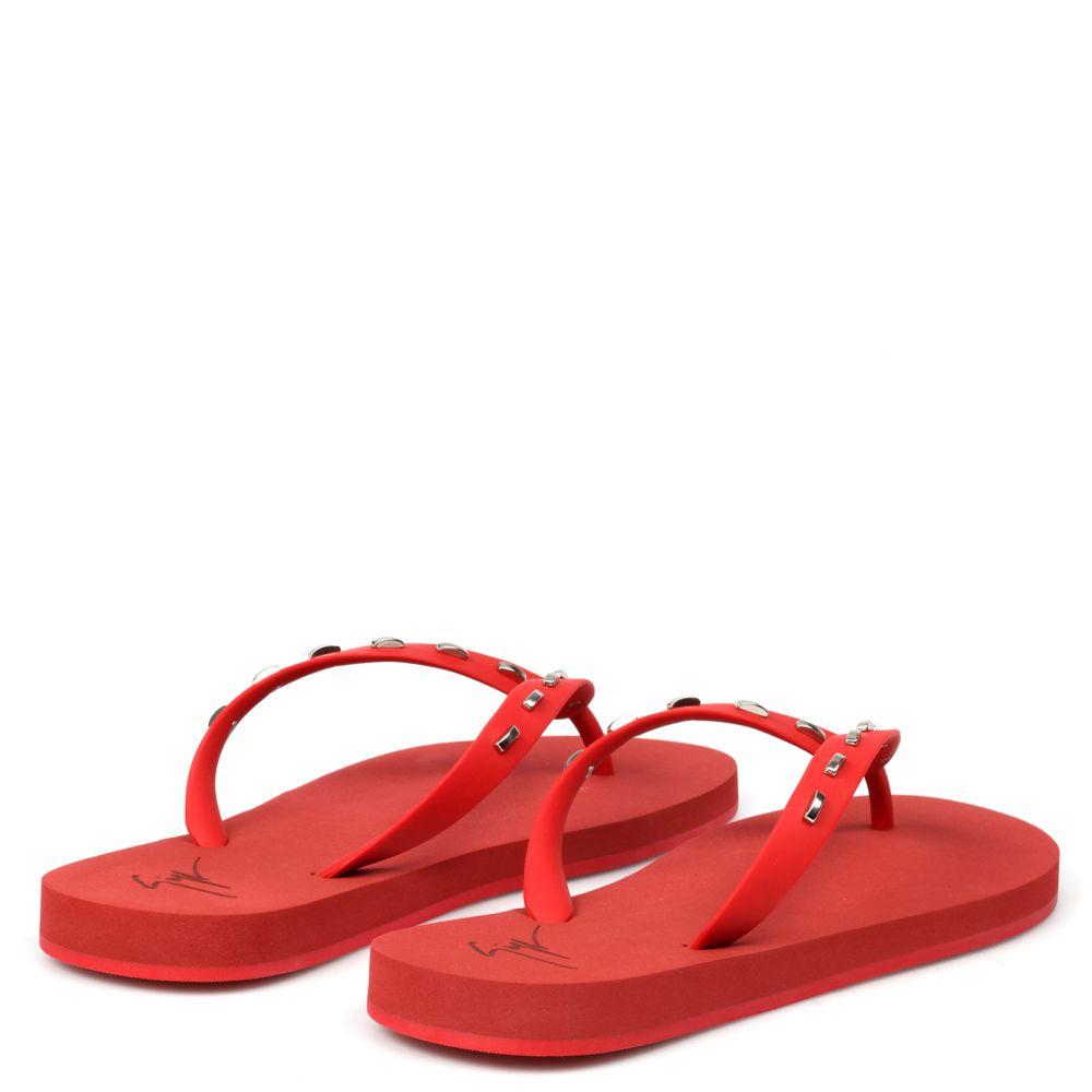 FLORIDA - Red - Flats
