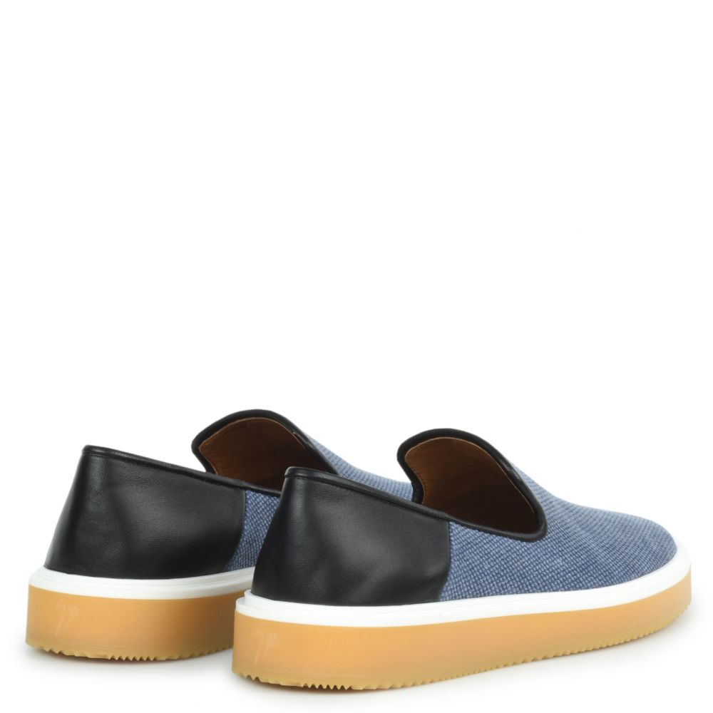 OFFMAN FLASH - Blue - Loafers