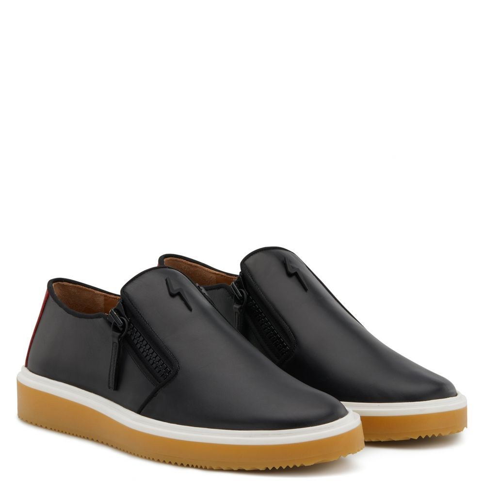 NORMAN - Black - Loafers
