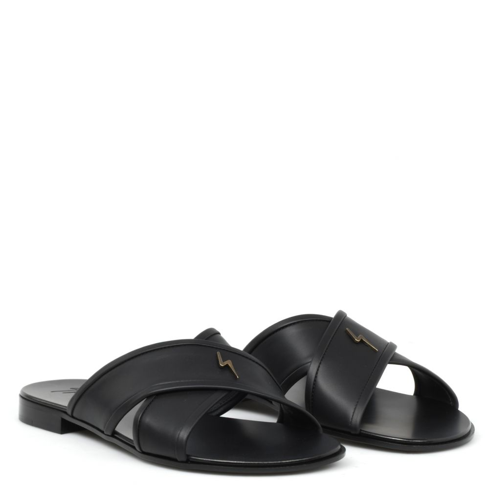 G-FLASH - Black - Sandals