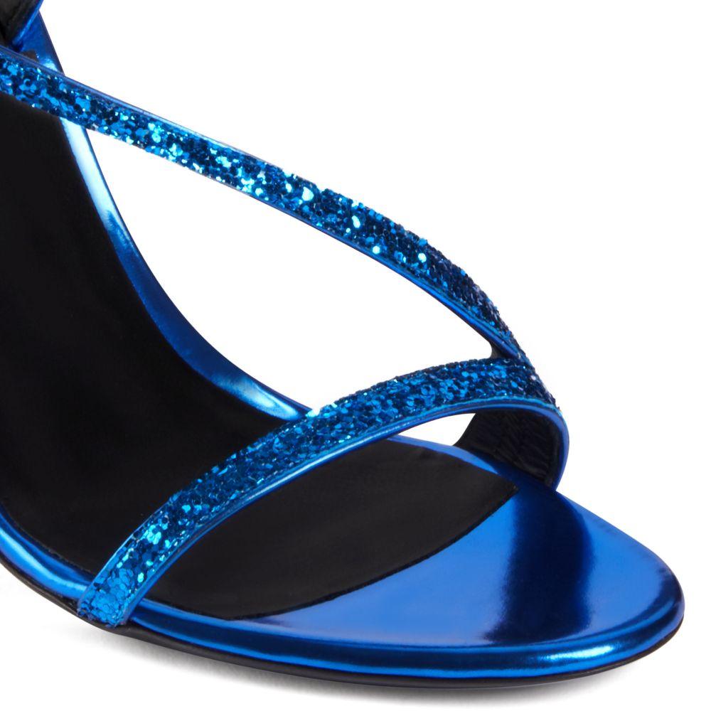 POLINA - Blue - Sandals