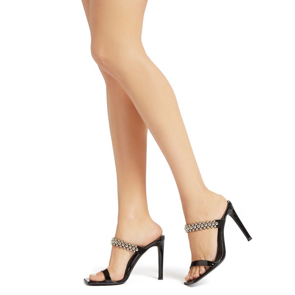 VANILLA BALLS - Black - Sandals