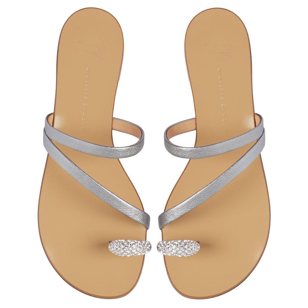 HILLARY RING - Silver - Flats
