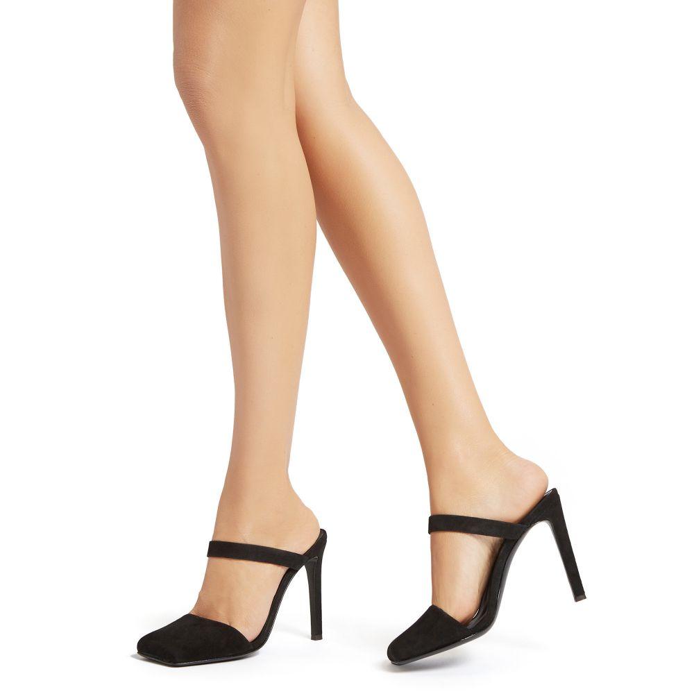 QUADRA - Black - Sandals