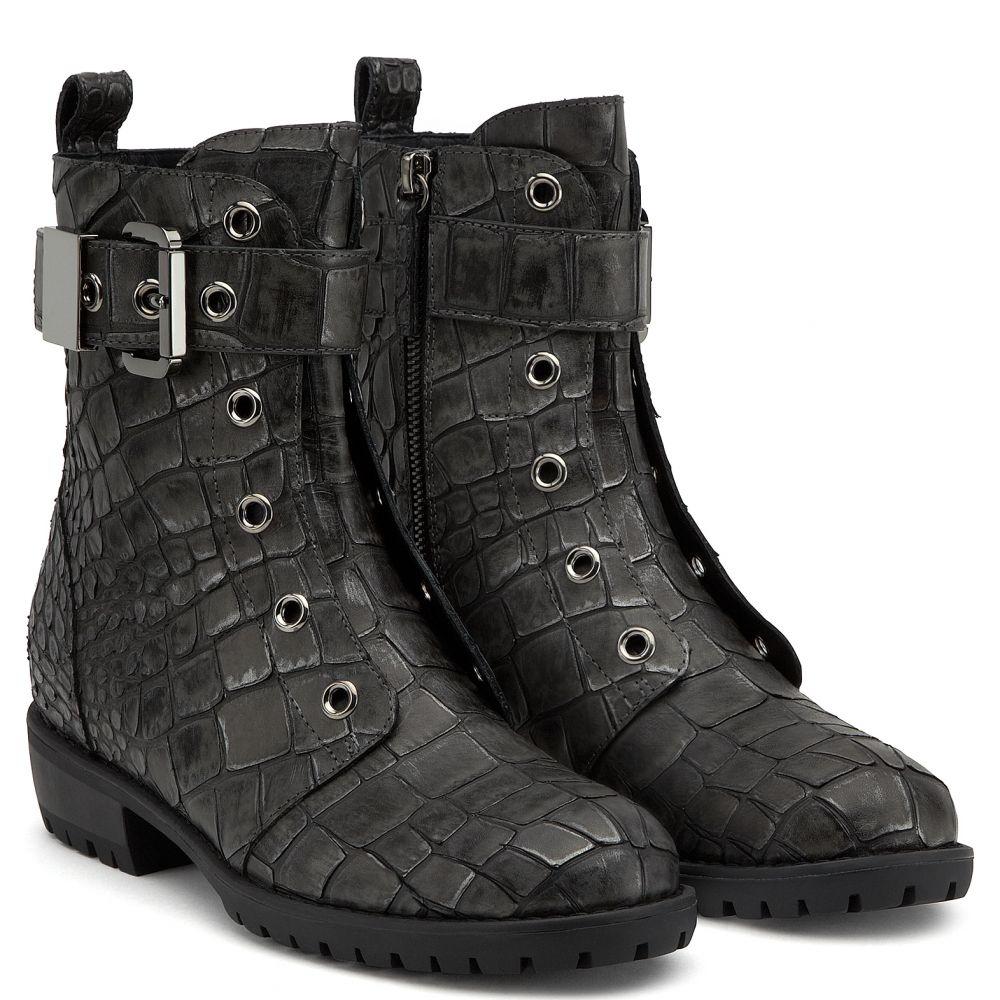 JAKE - Grigio - Stivali