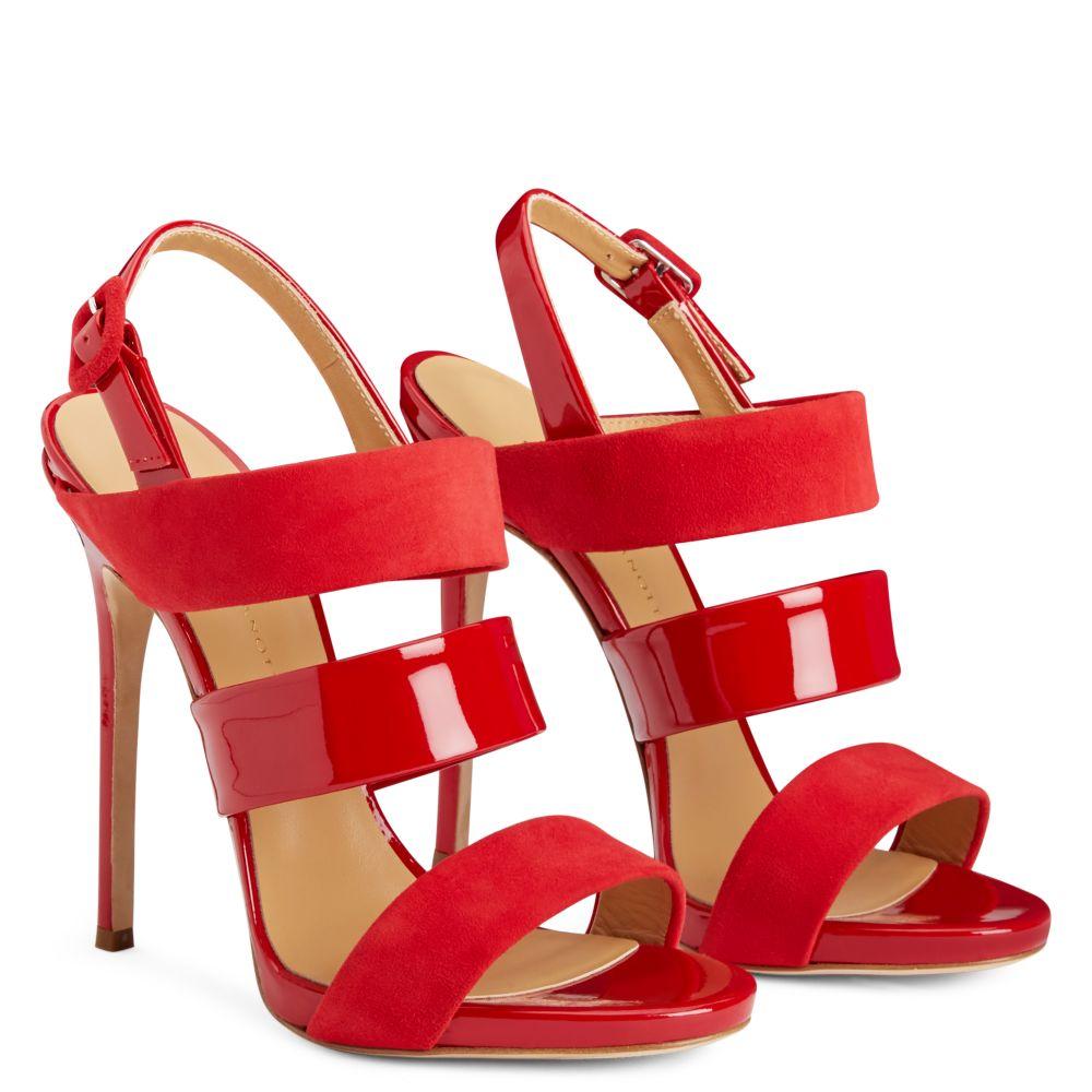 EVELINA - Bordeaux - Sandals