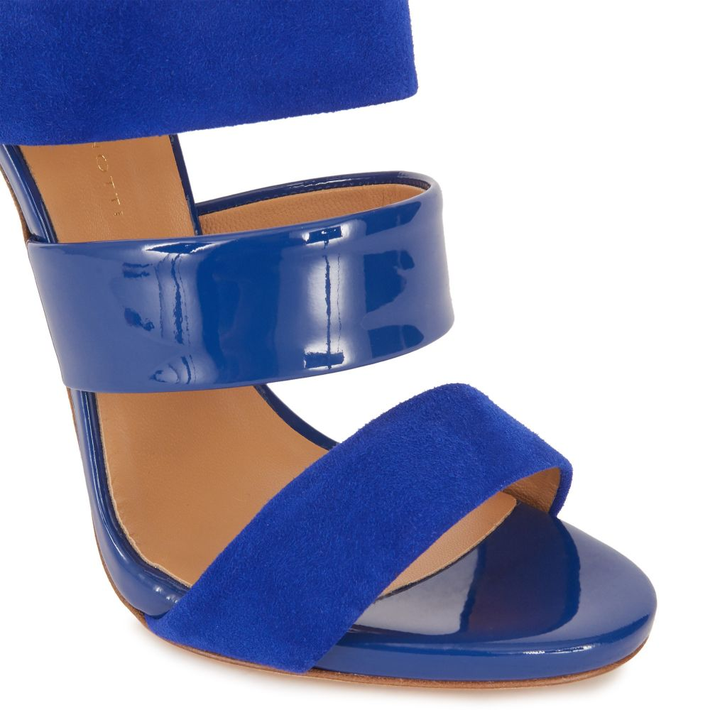 EVELINA - Blue - Sandals