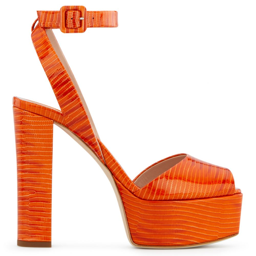 BETTY - Orange - Sandals