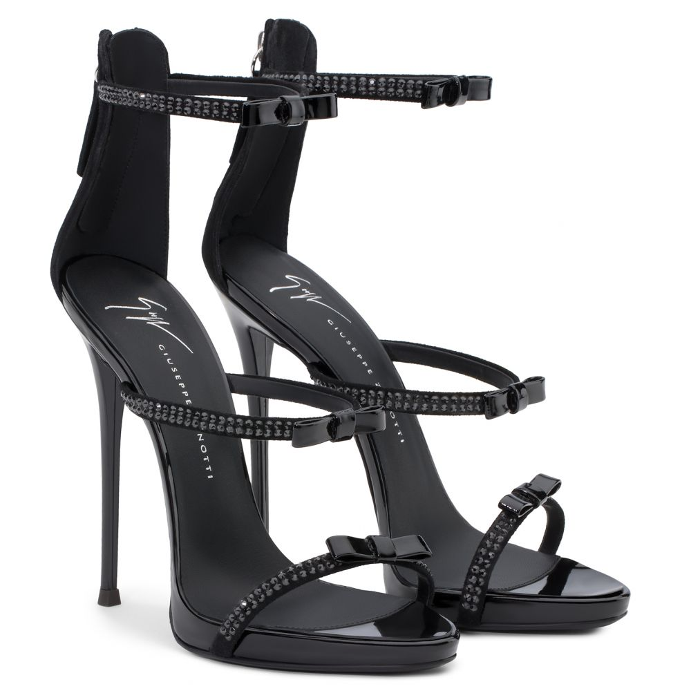 HARMONY RIBBON - Black - Sandals