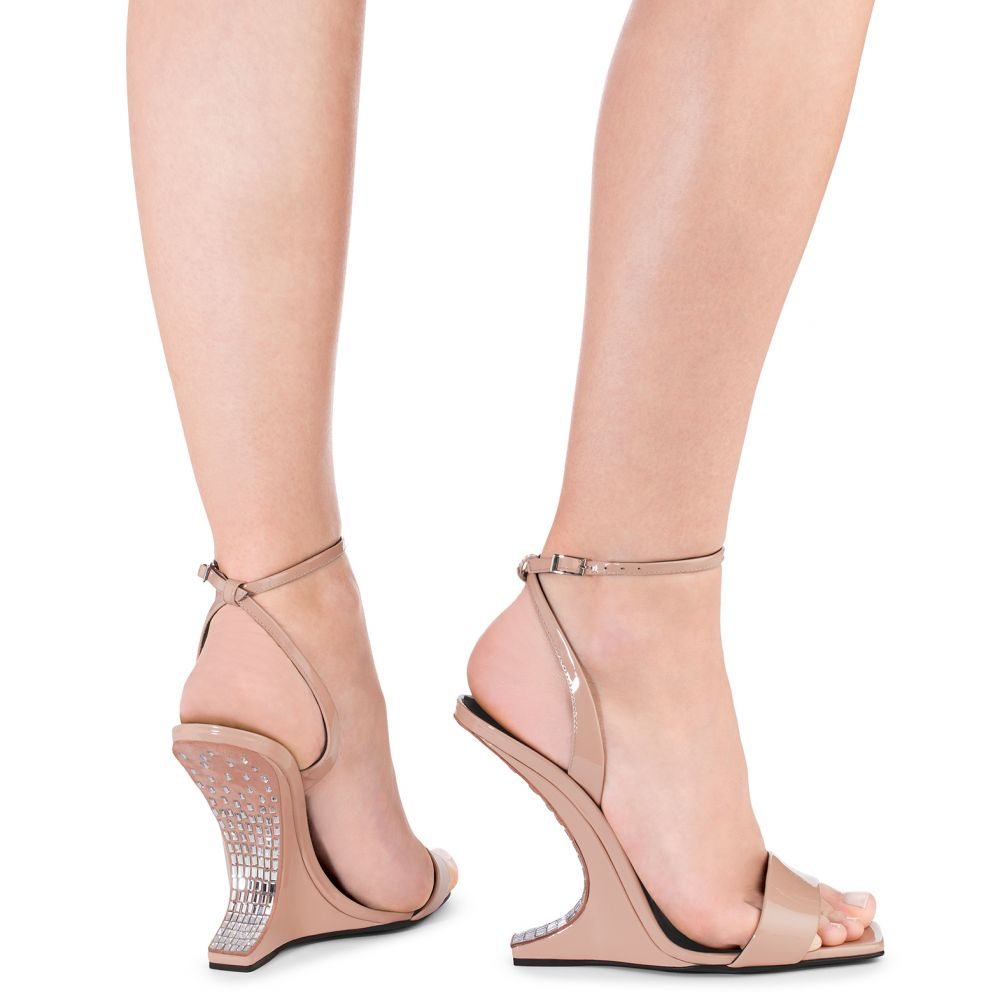 PICARD CRYSTAL - Pink - Wedges