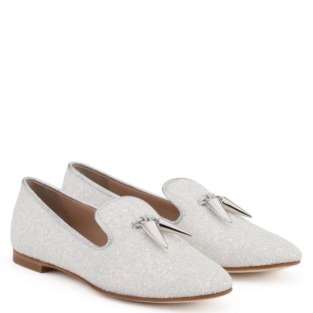 SPACEY - White - Loafers