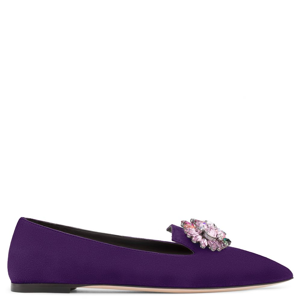 ALINE - Purple - Flats