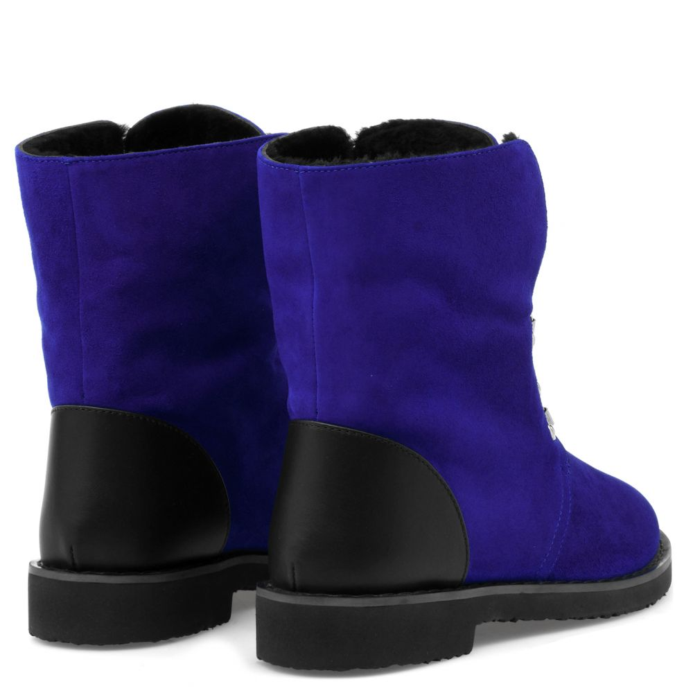 FORTUNE - Blue - Boots