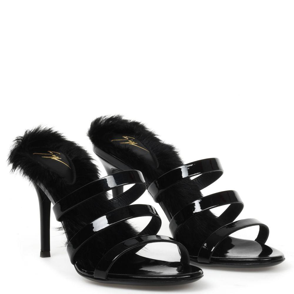 JANETTE - Black - Sandals