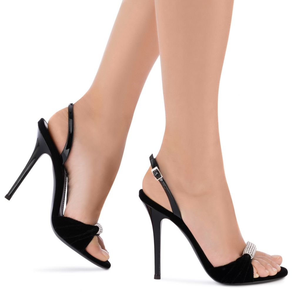 SYLVIA - Black - Sandals