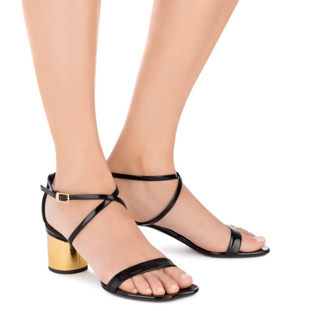 TARA - Black - Sandals