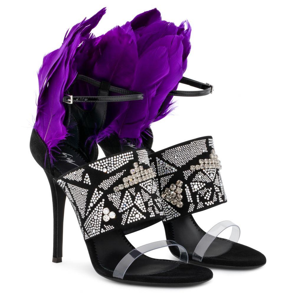 TALIA - Black - Sandals