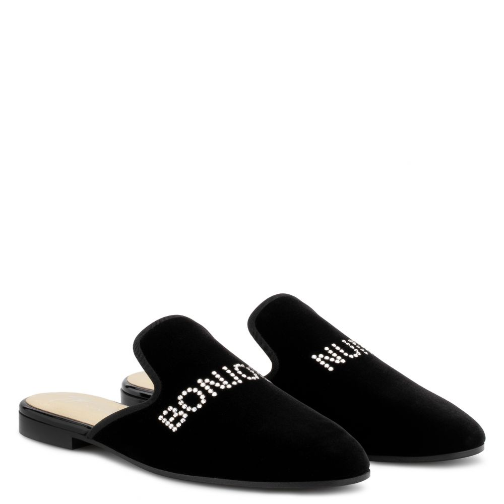 BONJOUR NUIT - Black - Flats