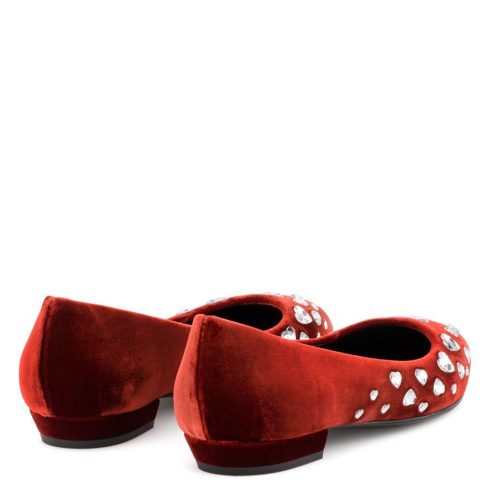 NANCIE LOVE - Red - Flats