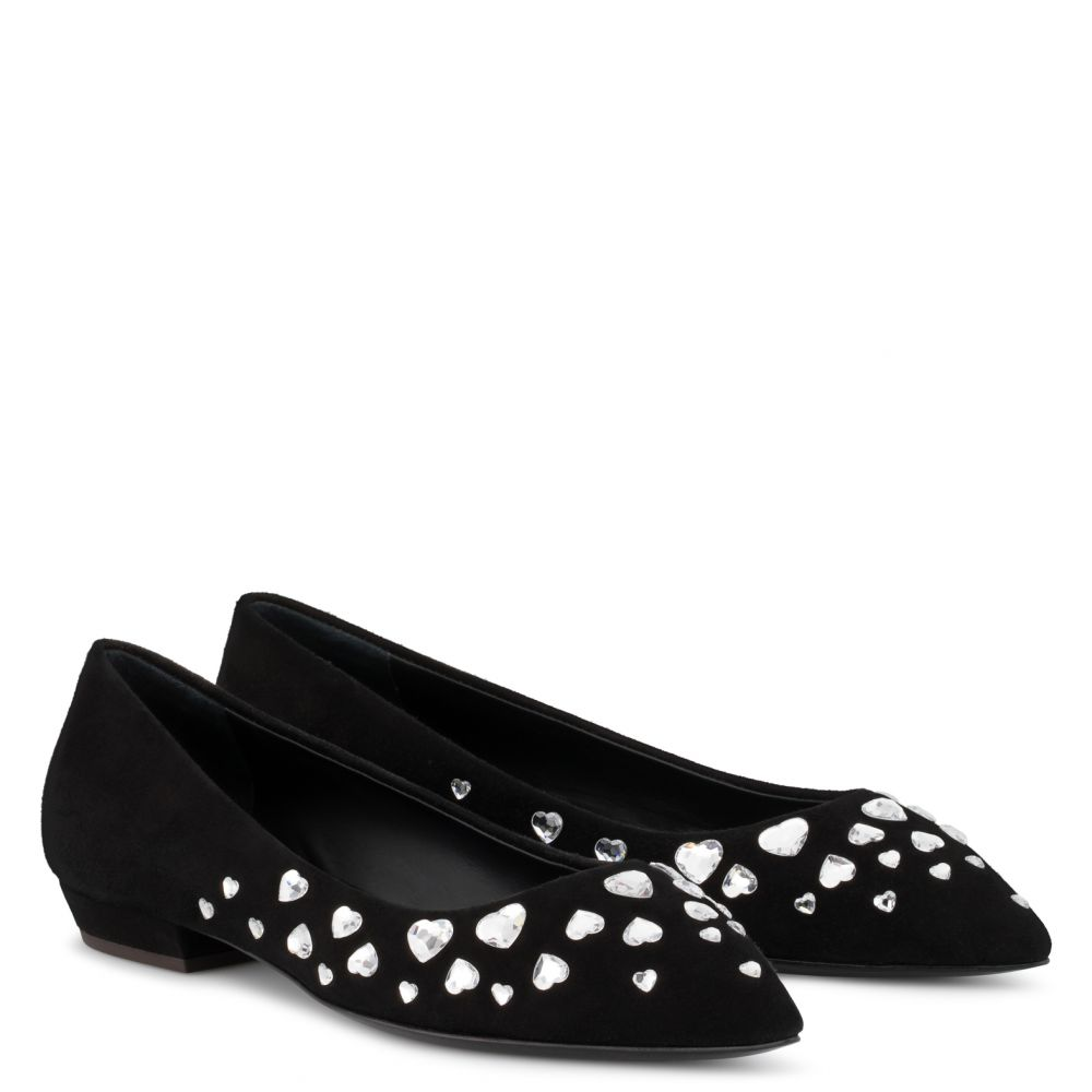 NANCIE LOVE - Black - Flats