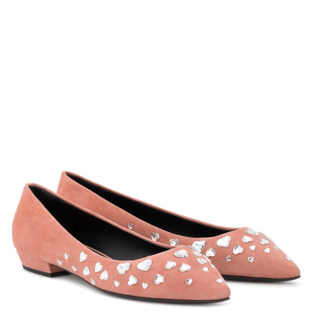 NANCIE LOVE - Pink - Flats