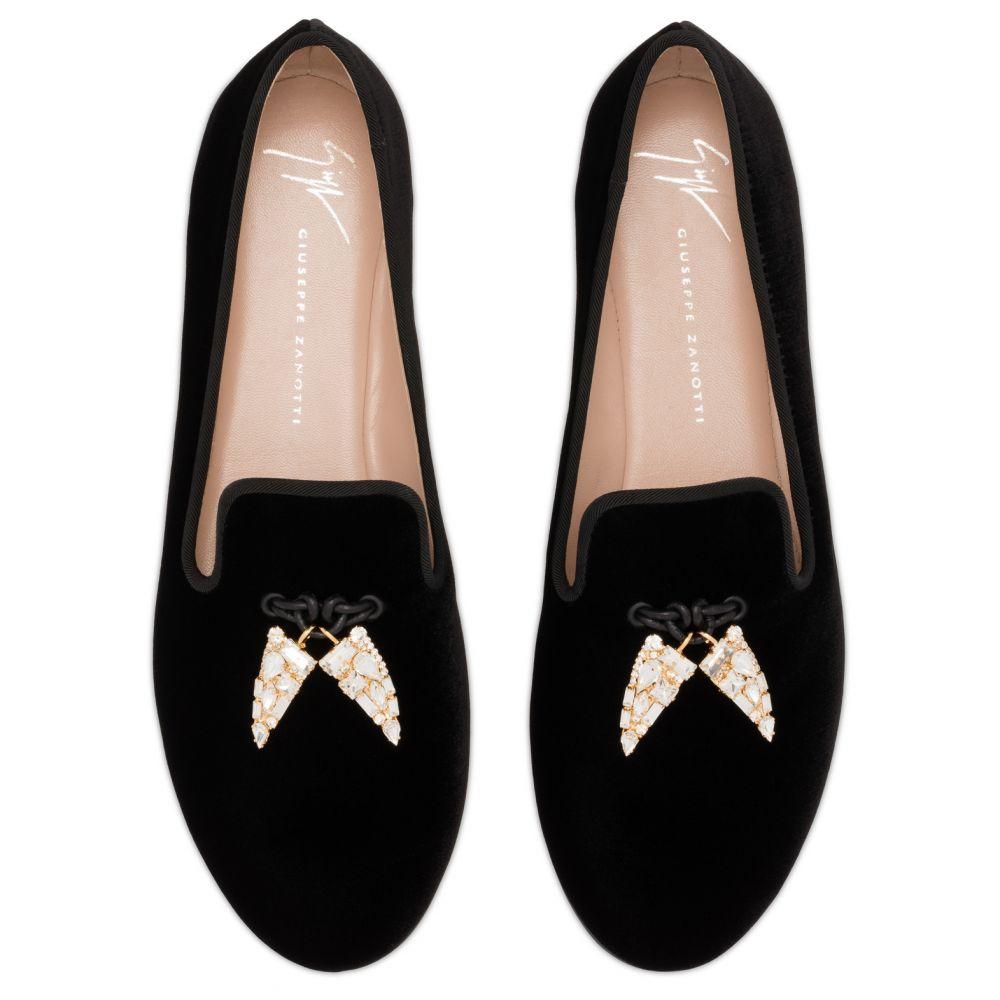 SHARK - Black - Loafers