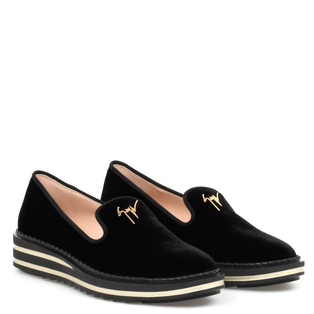 TIM - Black - Loafers