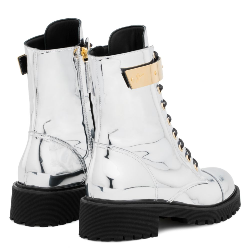 HARVEY - Silver - Boots