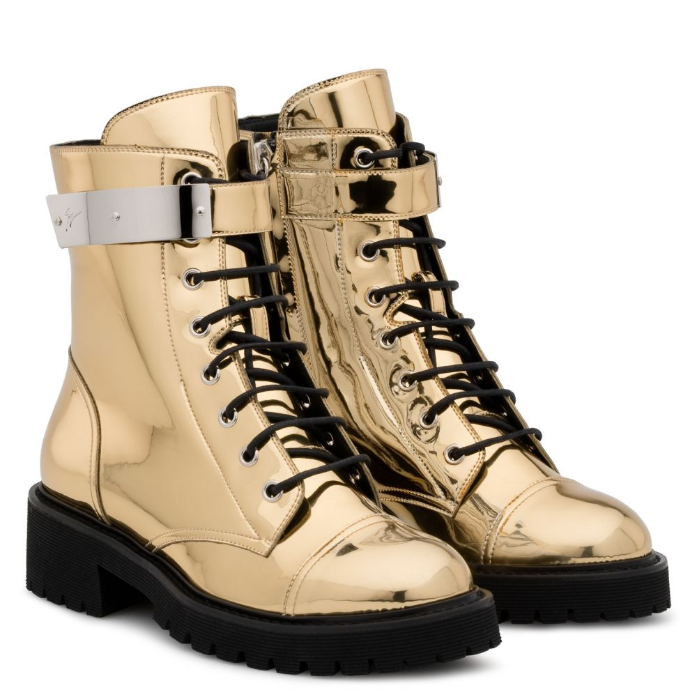 HARVEY - Gold - Boots