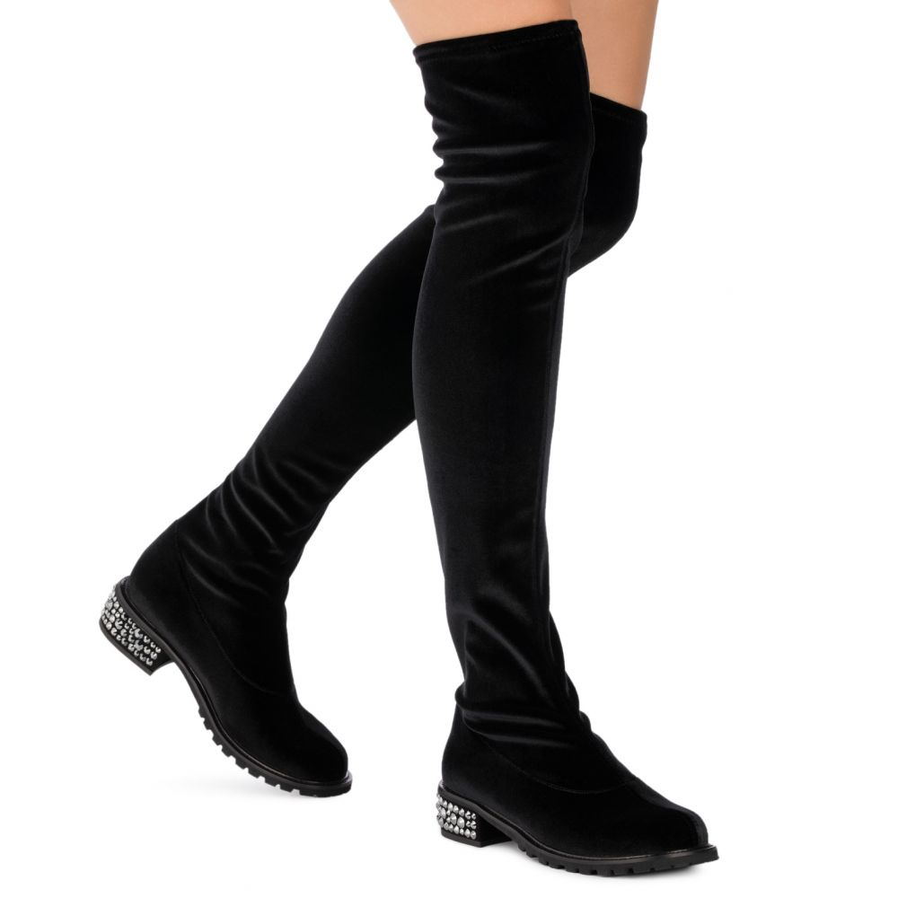 CAROLE - Black - Boots