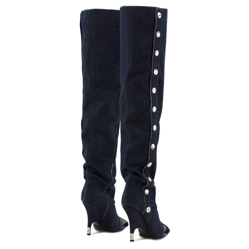 HARPER - Blue - Boots