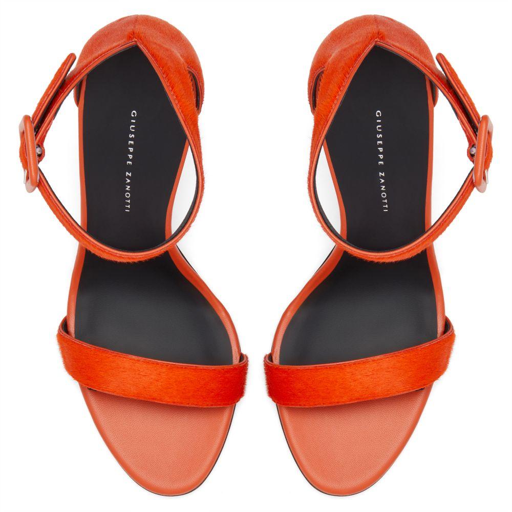 NEYLA - Orange - Sandales