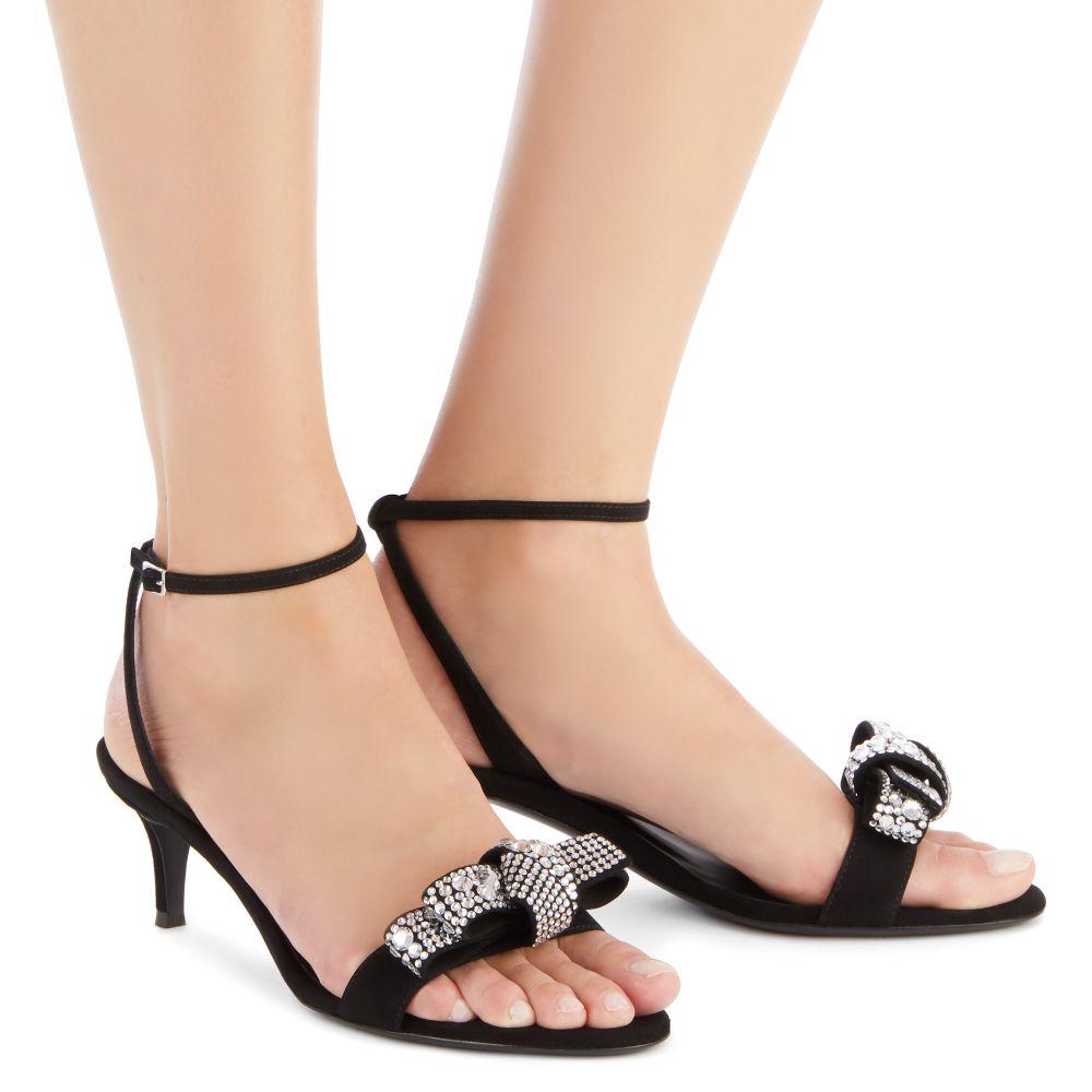 JENI - Black - Sandals