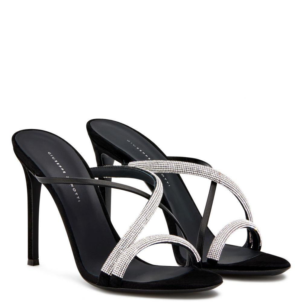 CROISETTE - BLack - Sandals