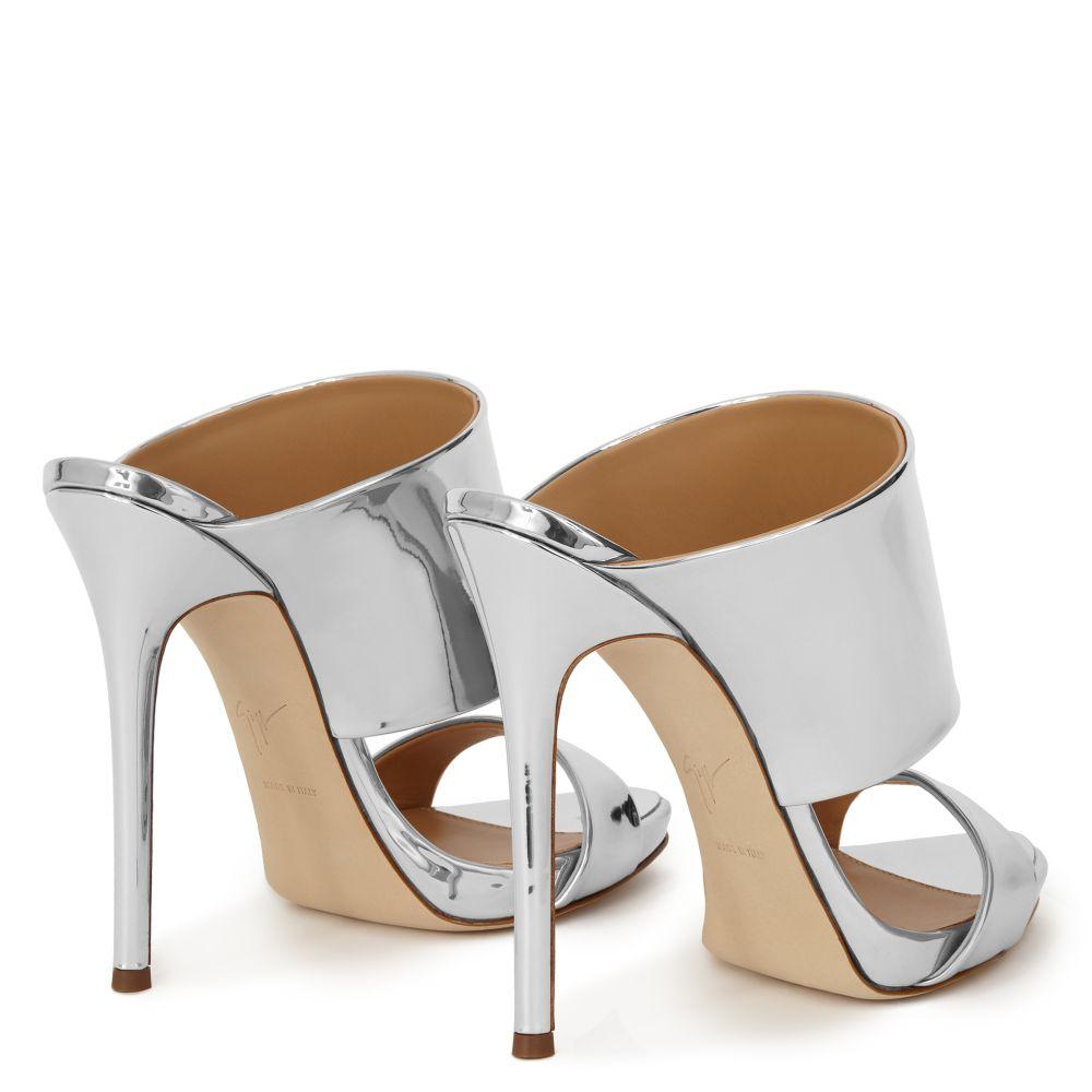 ANDREA - Silver - Sandals
