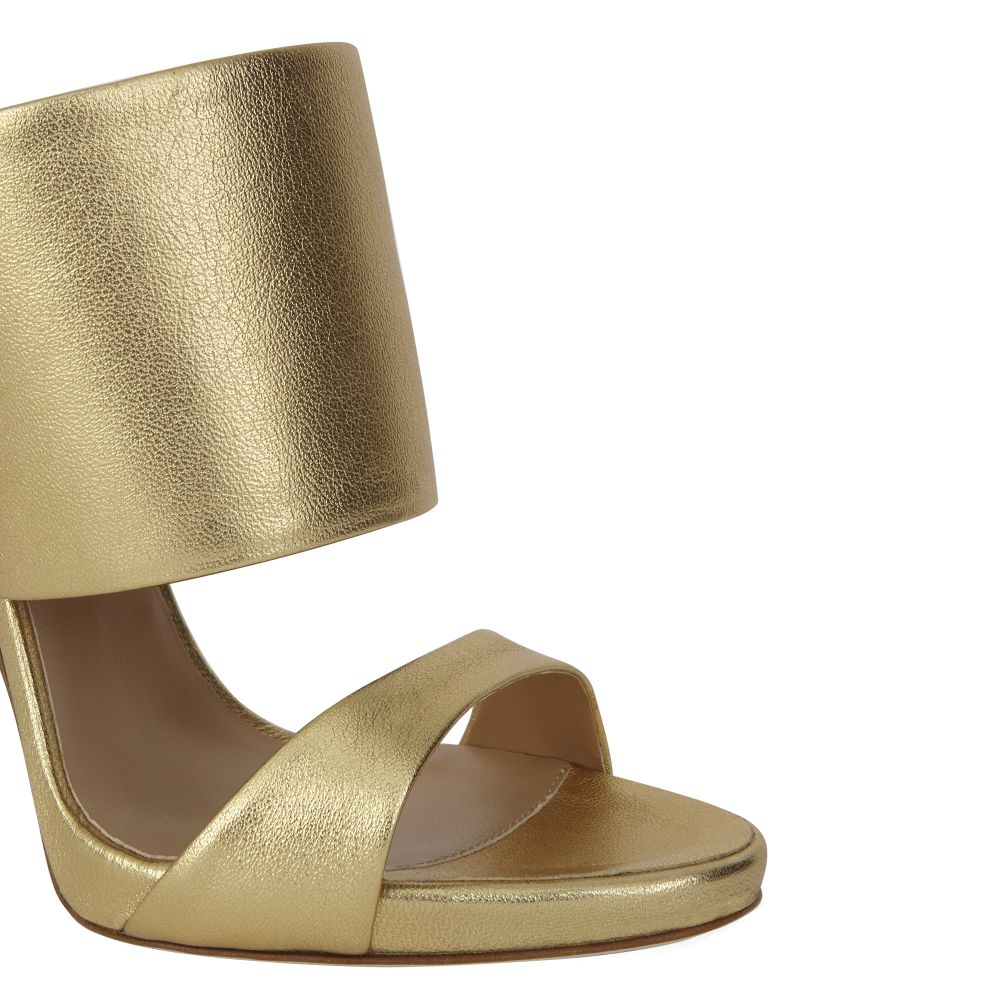 ANDREA - Gold - Sandals