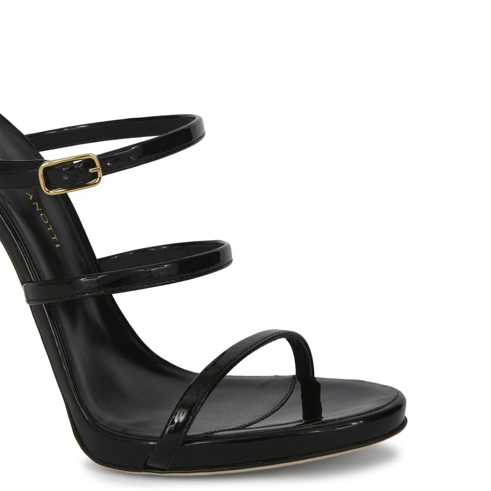 MARGARET - Black - Sandals