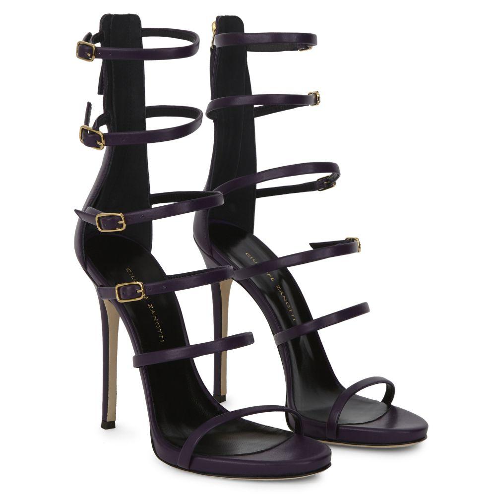MARGARET - Purple - Sandals