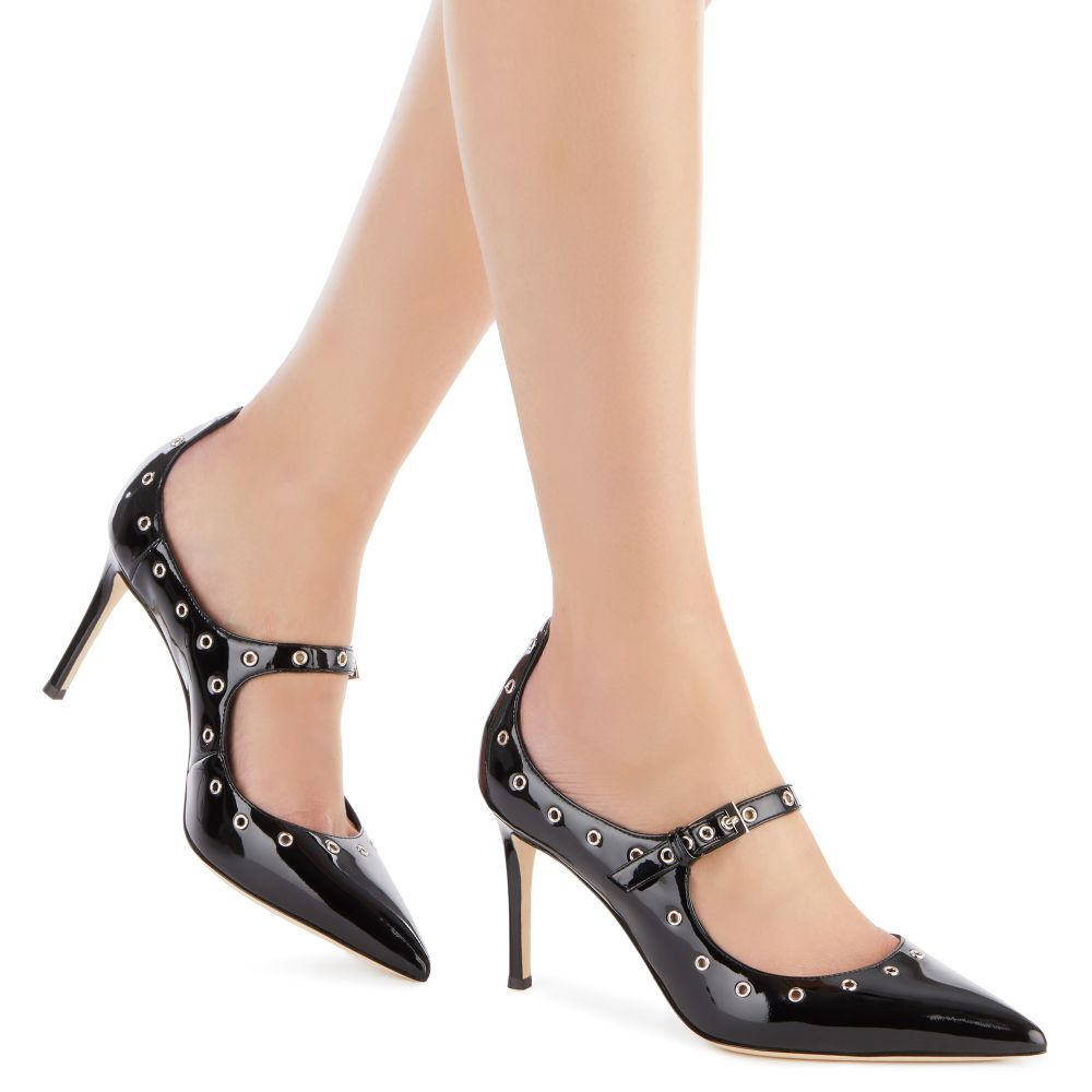 ALYSON CUT - Black - Pumps