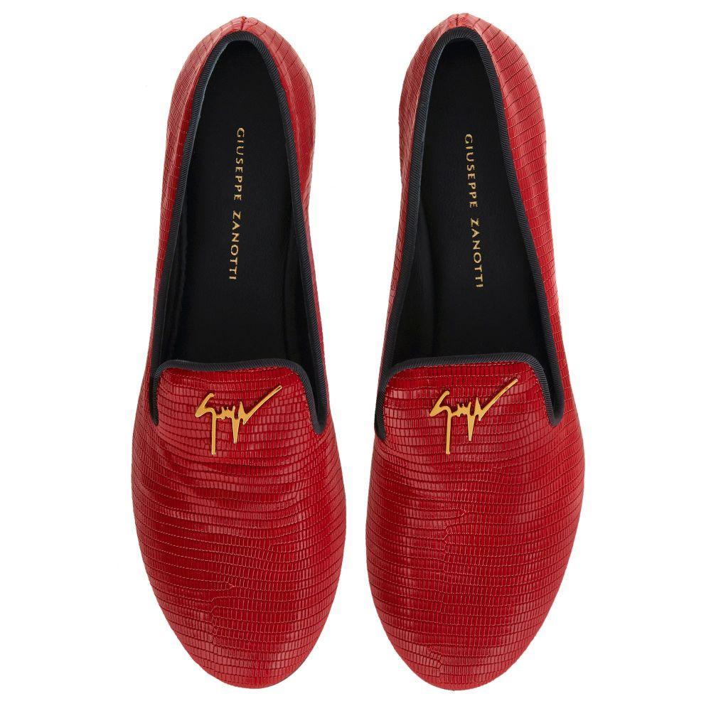 DALILA - Red - Loafers